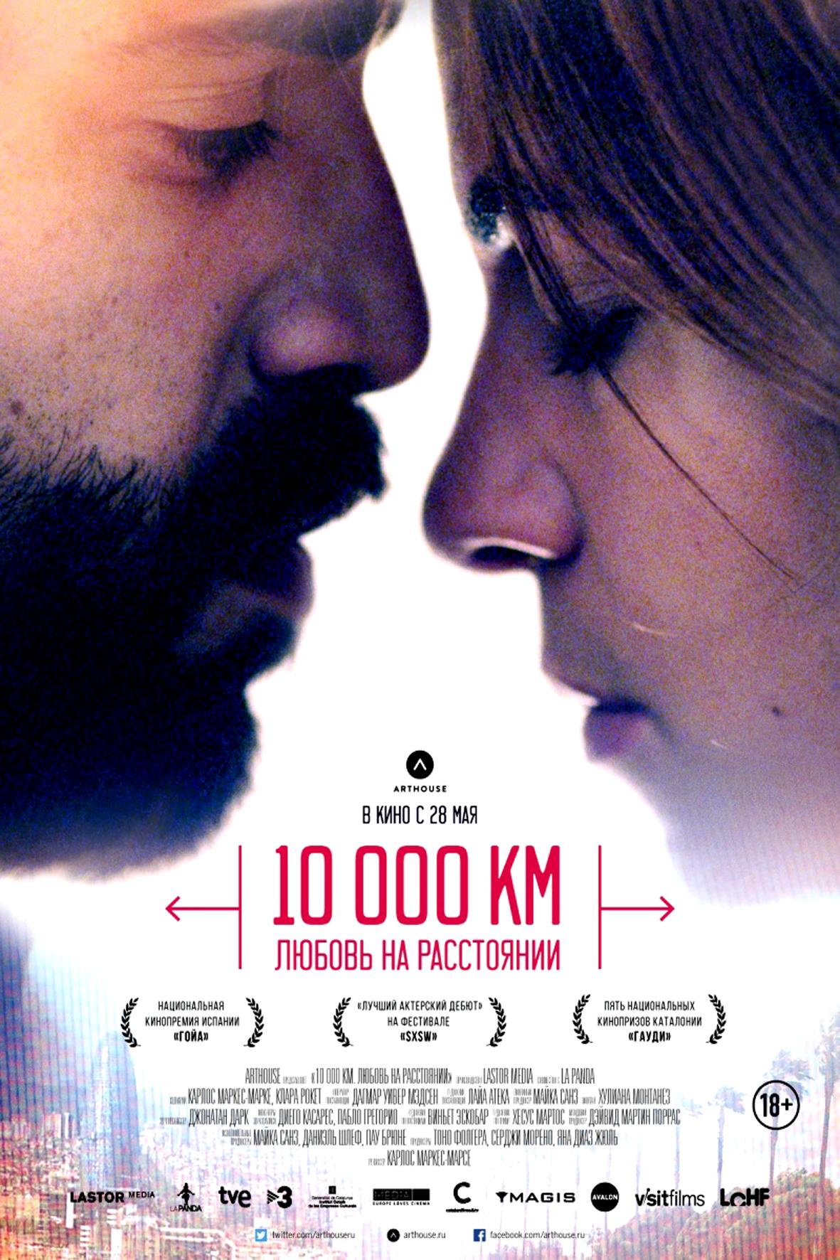10 000 км любовь на расстоянии 10 000 km 2014 скачать
